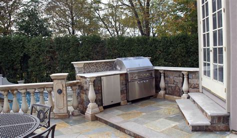 outdoor kitchens nj outdoor kitchen bbq design installation bergen county nj