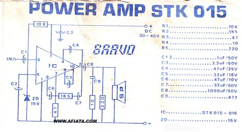 Power Lifier Stk audio lifiers circuit diagram audio free engine image