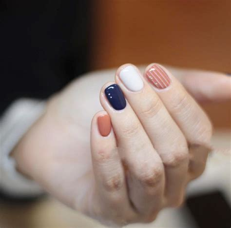 nail color designs best 25 different color nails ideas on accent