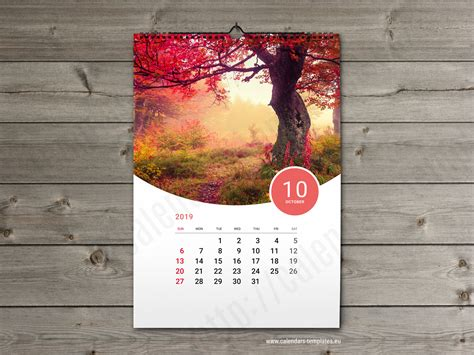 custom calendar printable photo calendar    format