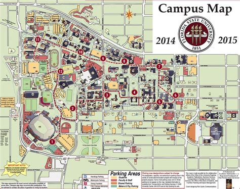 Mba Focus Areas Uf by The Florida State Cus Map Rachael Edwards