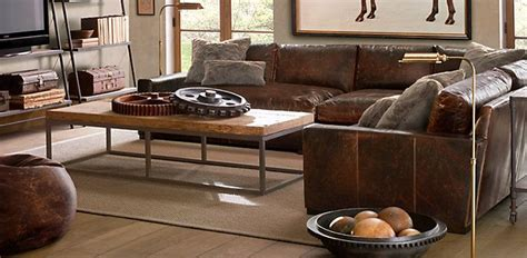 restoration hardware sectionals leather seating restoration hardware love rb living