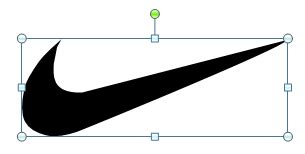 Create A Nike Powerpoint Template Using Shapes Nike Powerpoint Template