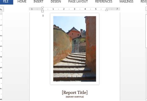 student report cover template student report template for word with cover photo