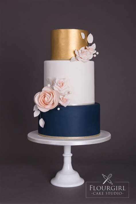 Wedding Cake Navy by Best 25 Navy Wedding Cakes Ideas On Navy Blue