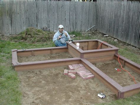 Building A Raised Garden Bed With Sleepers