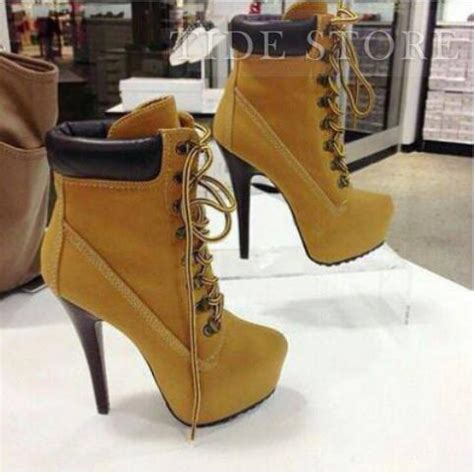 chic stiletto heels lace up shoes ankle boots tidestore