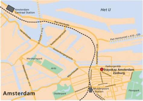 netherlands hostels map stayokay amsterdam zeeburg in amsterdam top hostel in