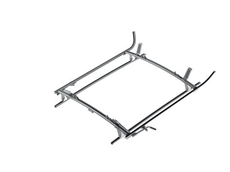 Ladder Rack Aluminum by Cl Ladder Rack Aluminum 2 Bar Mercedes Metris