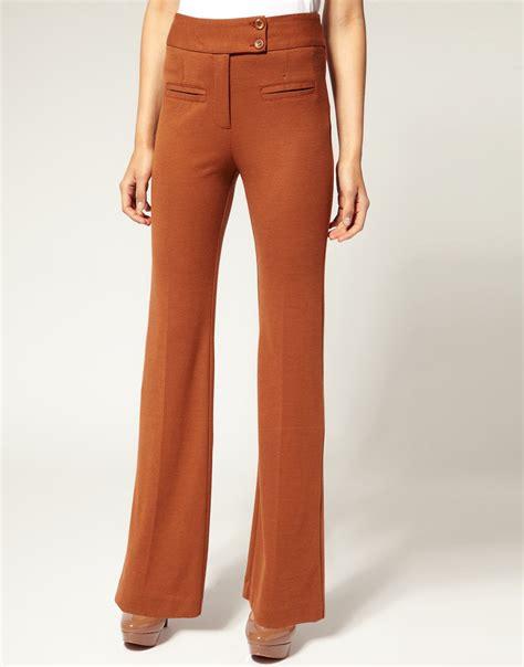 Asos Tailored Slim Trouser asos asos tailored ponti high waisted slim flare