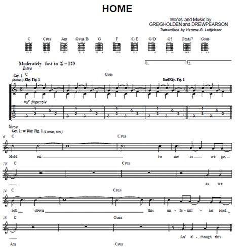 home phillip phillips guitar tabs purple market area