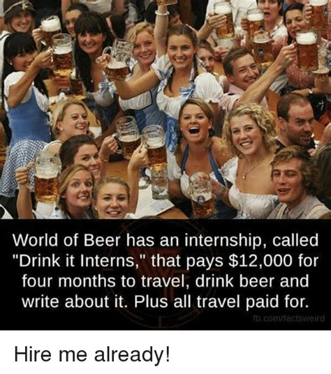 drink it interns 25 best memes about drink beer drink beer memes