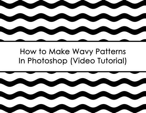 design pattern c video tutorials how to make wavy patterns in photoshop build a bigger online