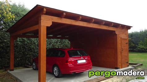 cocheras de madera garajes de madera pergomadera 2015