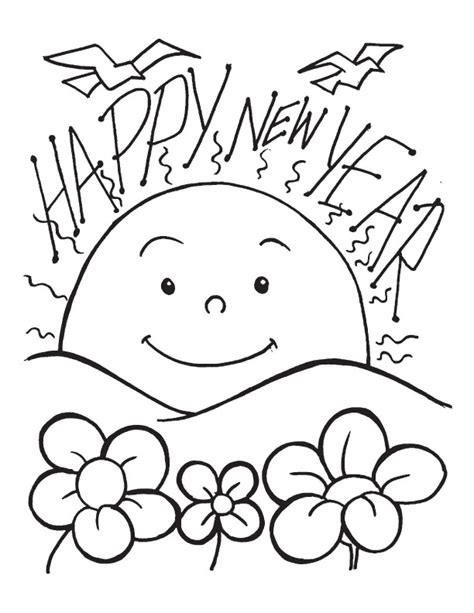 why is the new year color happy new year coloring page 2017 2018 best