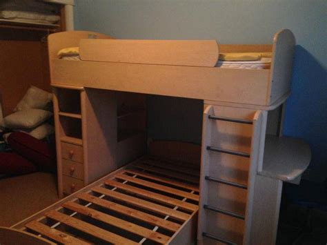 Palliser Bunk Bed With Desk Palliser Bunk Bed With Side Desk And Bookcase West Carleton Ottawa
