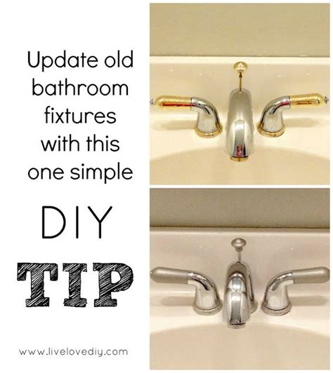 Used Bathroom Fixtures Paint Outdated Bathroom Fixtures Still Holding Up A Year Later Used Rust Oleum