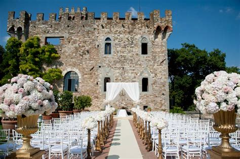 Hochzeit Burg by Vincigliata Castle In Tuscany The Italian Wedding Of The