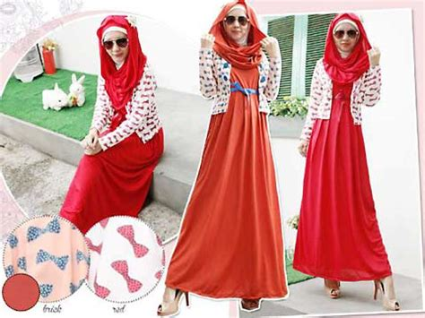 Gamis Bolero Top Dress Pashmina pashmina fashion butiq laman 2