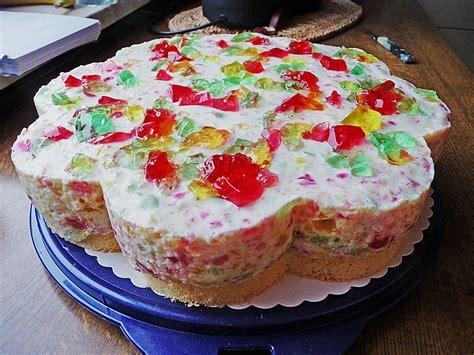 bunte kuchen rezepte bunte g 246 tterspeise torte xyinkwh chefkoch de