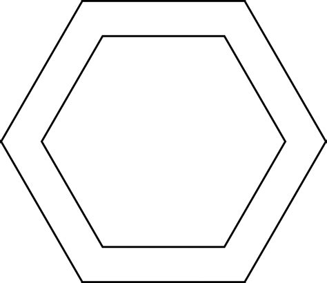 clipart etc hexagon clipart clipart suggest