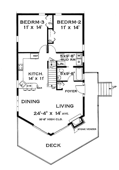 european floor plans european style house plan 3 beds 2 baths 1721 sq ft plan
