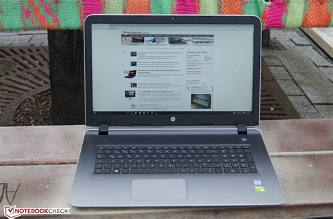 hp pavilion 17 hp pavilion 17 g120ng notebook review notebookcheck net