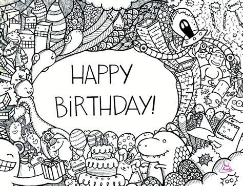 happy birthday doodle easy happy birthday doodle by montemel on deviantart diy