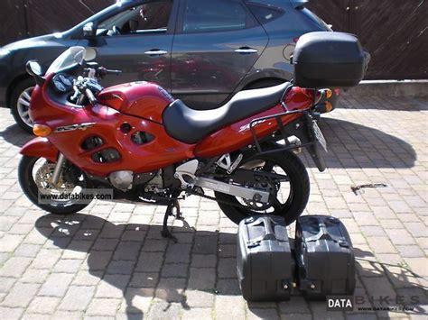 2002 Suzuki Motorcycles 2002 Suzuki Gsx 750 F
