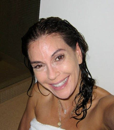 charity lane facial teri hatcher shows off her slimline figure in a swimsuit