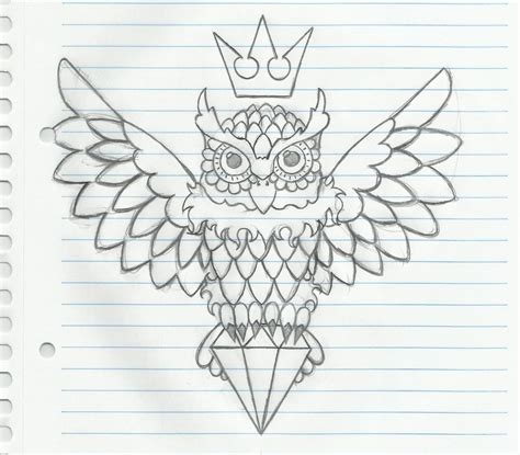 owl tattoo outline owl sketch by petersonantinossi on deviantart
