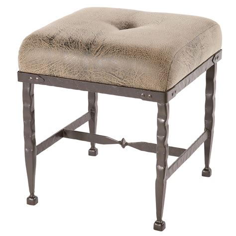 Rod Iron Stools by Wrought Iron Forest Hill Collection Foot Stool