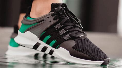 Adidas Eqt Support Adv Black White Premium Quality adidas eqt support adv black sub green the sole supplier