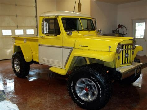 willys jeep truck diesel willys pickup for sale craigslist autos post