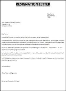 How To Prepare A Letter Of Resignation by Best 25 Resignation Letter Ideas On