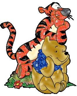 imagenes de winnie pooh pensando winnie the pooh glitter gifs picgifs com