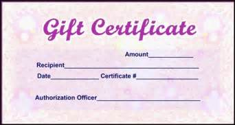 Sample Gift Certificate Template Design Samples Of Gift Certificates