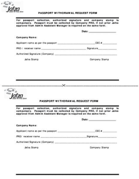 Withdrawal Passport Letter Passport Forms Templates Fillable Printable Sles For Pdf Word Pdffiller
