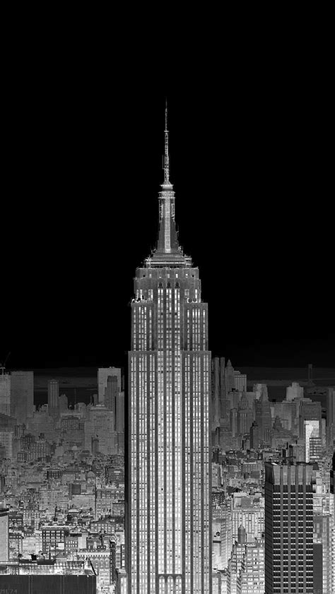 new york iphone wallpaper black and white freeios7 me74 dusk night new york skyline city