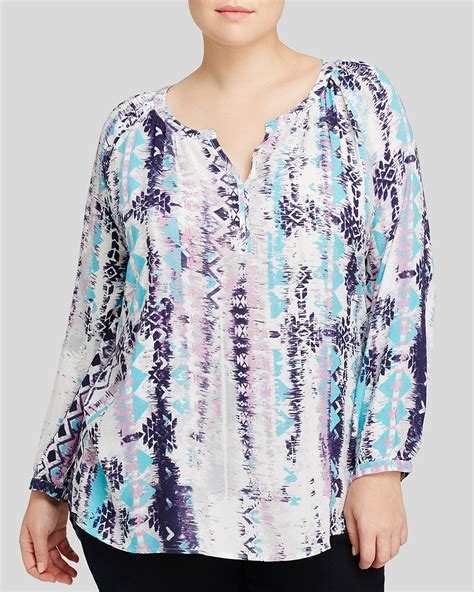 Beachlunchlounge 3x by Beachlunchlounge Plus Tribal Print Top Bloomingdale S