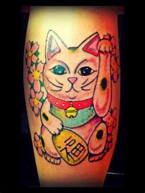 lucky cat tattoo lucky cat the school co guidepost