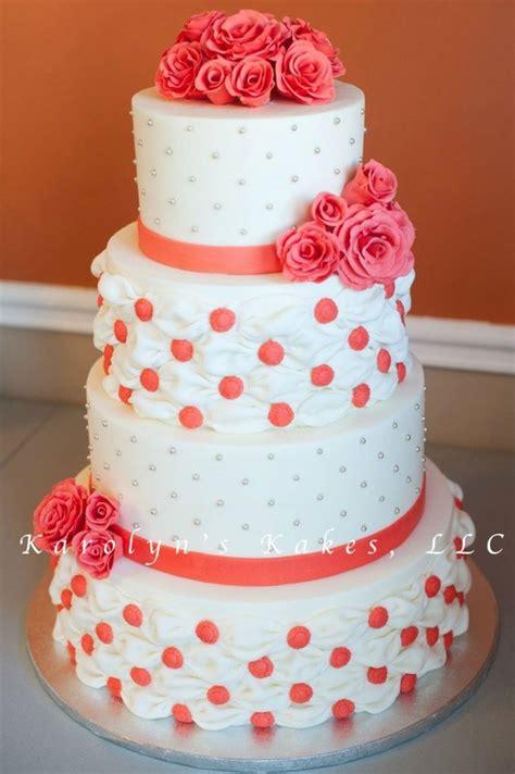 hochzeitstorte lachsfarben wedding billow and roses cakecentral