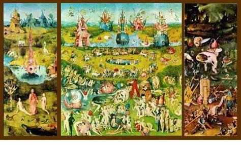 trittico giardino delle delizie spiritualita e arte 169 375 una chiave per entrare nel