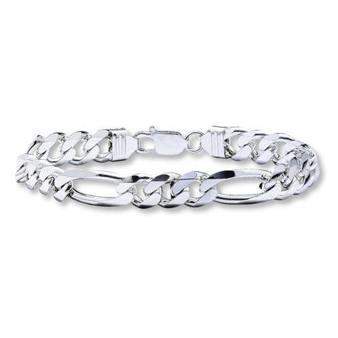 s figaro bracelet sterling silver 8 quot length