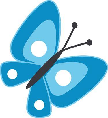 imagenes de mariposas azules animadas vinilo infantil dibujo mariposa azul tenvinilo