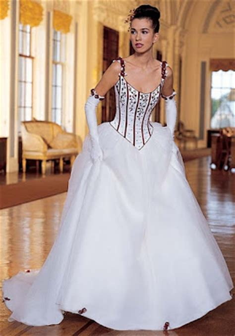 wedding dress designs cleavage open wedding dresses