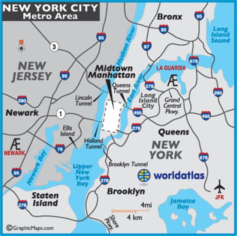 map of new york city new york geography maps new york city