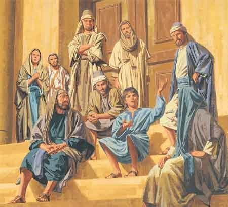 jesus teaching in the temple as a boy coloring page god is my father for god s glory alone ministries