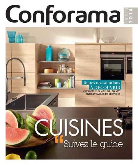 cuisine 駲uip馥 conforama catalogue catalogue conforama guide cuisines 2014 by joe