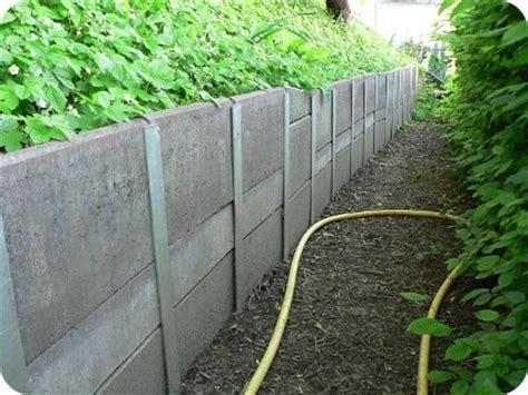 Gartenmauer Selber Machen by Gartenmauer Im Eigenbau